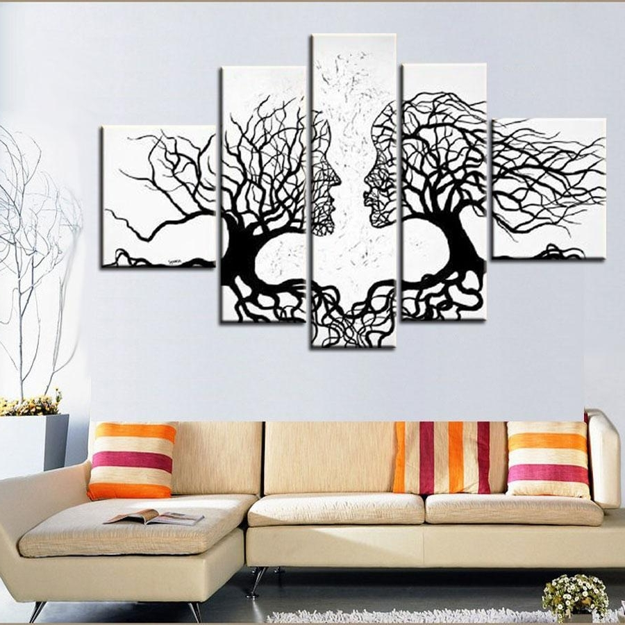 [%100% Hand Made Promotion Black White Tree Canvas Painting Abstract Within Most Current Abstract Leaves Wall Art|Abstract Leaves Wall Art Inside Famous 100% Hand Made Promotion Black White Tree Canvas Painting Abstract|Trendy Abstract Leaves Wall Art With Regard To 100% Hand Made Promotion Black White Tree Canvas Painting Abstract|Most Recently Released 100% Hand Made Promotion Black White Tree Canvas Painting Abstract Throughout Abstract Leaves Wall Art%] (View 1 of 15)