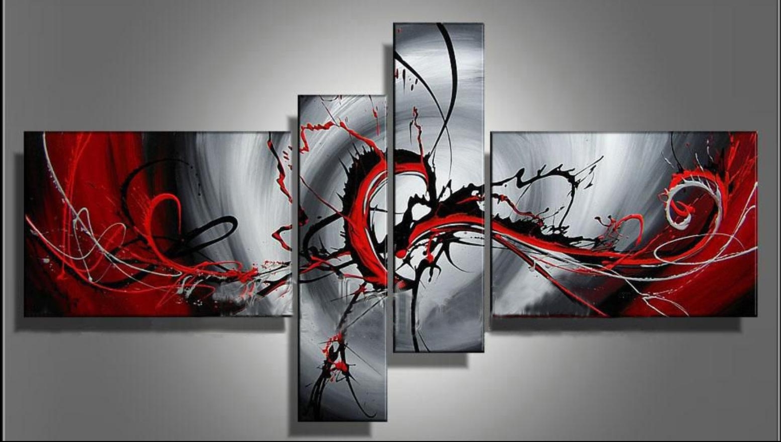 [%100% Hand Painted Classic Black & Red Modern Abstract Oil Painting With Regard To Latest Modern Abstract Oil Painting Wall Art|Modern Abstract Oil Painting Wall Art With Regard To Most Recently Released 100% Hand Painted Classic Black & Red Modern Abstract Oil Painting|Well Known Modern Abstract Oil Painting Wall Art Intended For 100% Hand Painted Classic Black & Red Modern Abstract Oil Painting|Newest 100% Hand Painted Classic Black & Red Modern Abstract Oil Painting Inside Modern Abstract Oil Painting Wall Art%] (View 1 of 15)
