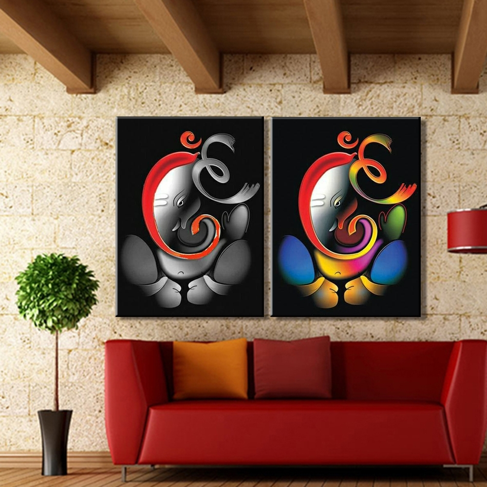 [%100% Hand Painted Om Ganesha Ganpati Oil Painting On Canvas In 2018 Abstract Ganesha Wall Art|Abstract Ganesha Wall Art Within Newest 100% Hand Painted Om Ganesha Ganpati Oil Painting On Canvas|Best And Newest Abstract Ganesha Wall Art Pertaining To 100% Hand Painted Om Ganesha Ganpati Oil Painting On Canvas|Current 100% Hand Painted Om Ganesha Ganpati Oil Painting On Canvas Pertaining To Abstract Ganesha Wall Art%] (View 1 of 15)