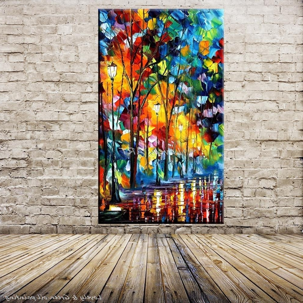 [%100% Handpainted Wall Art Modern Abstract Paintings Rain Tree Road With Best And Newest Colourful Abstract Wall Art|Colourful Abstract Wall Art In Famous 100% Handpainted Wall Art Modern Abstract Paintings Rain Tree Road|Most Up To Date Colourful Abstract Wall Art Intended For 100% Handpainted Wall Art Modern Abstract Paintings Rain Tree Road|Favorite 100% Handpainted Wall Art Modern Abstract Paintings Rain Tree Road For Colourful Abstract Wall Art%] (View 1 of 15)