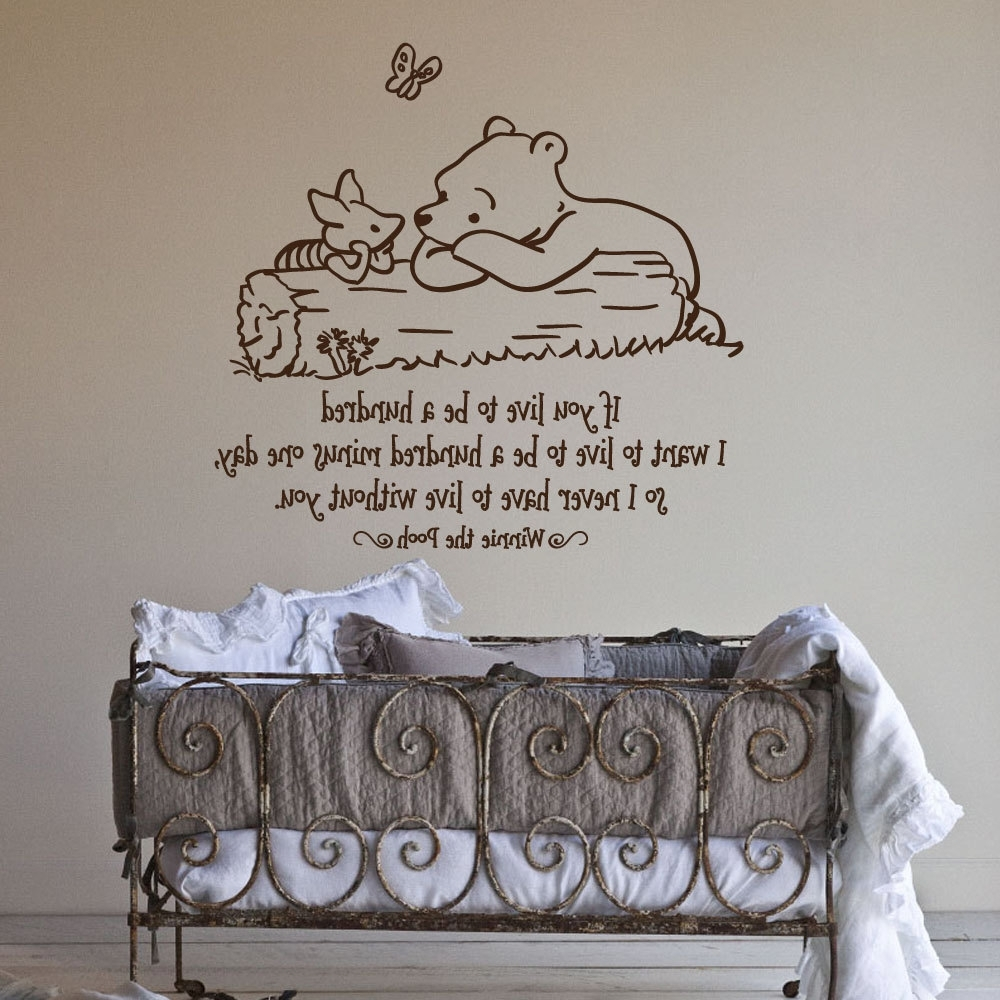 17 Nursery Wall Decals And How To Apply Them (View 1 of 15)