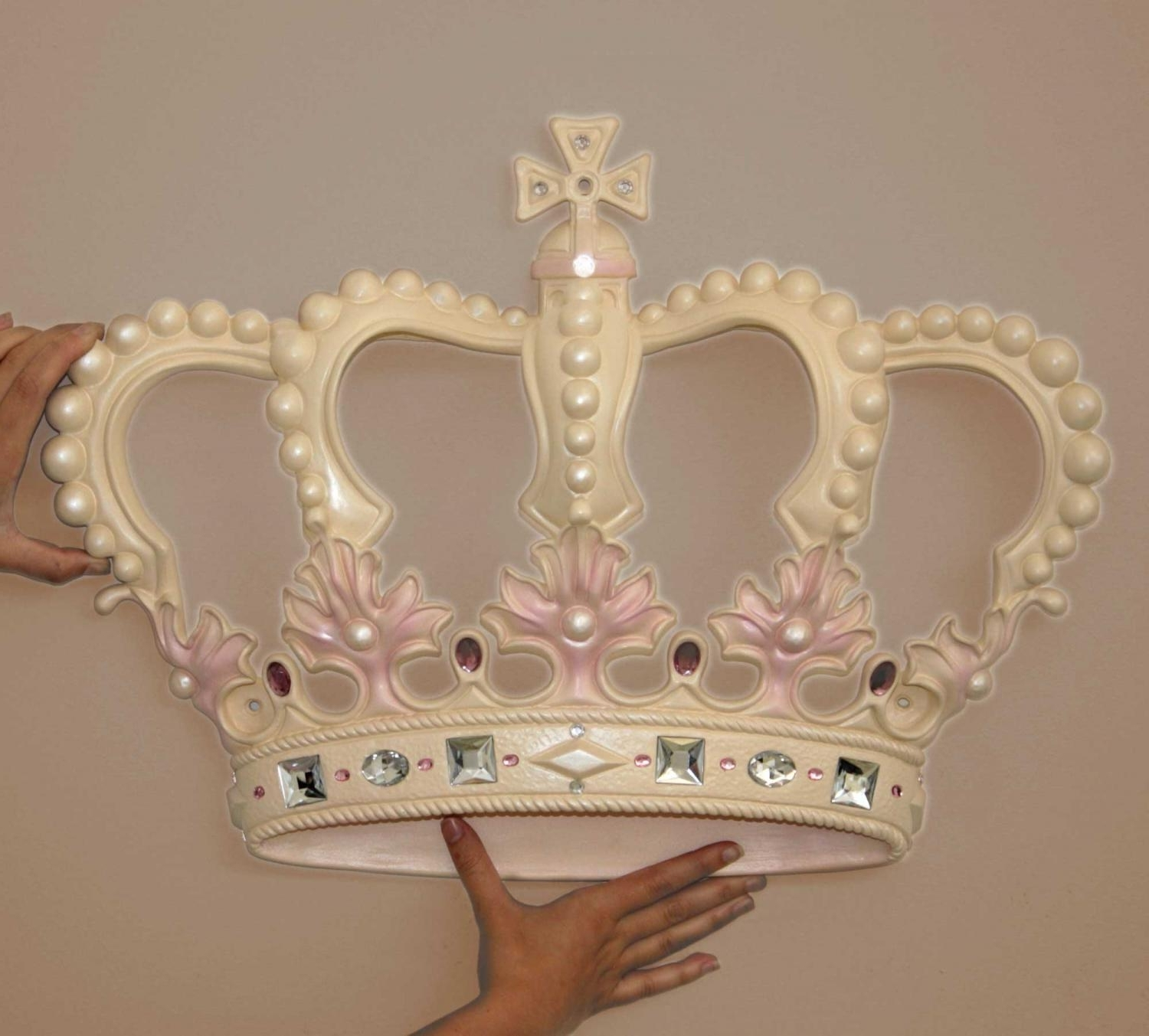 Featured Photo of 3D Princess Crown Wall Art Decor