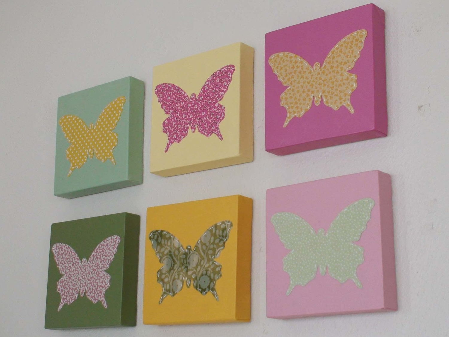 2017 Butterfly Canvas Wall Art Inside Eight Butterfly Canvas Wall Decorations (View 1 of 15)