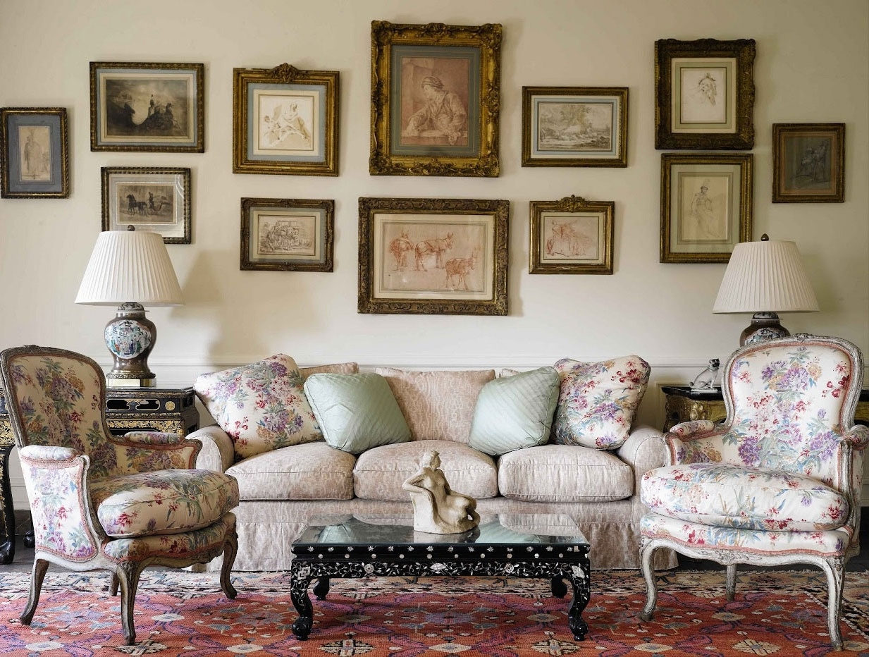 2017 Interior : Stunning French Country Living Room Decorating Ideas In French Country Wall Art (View 1 of 15)