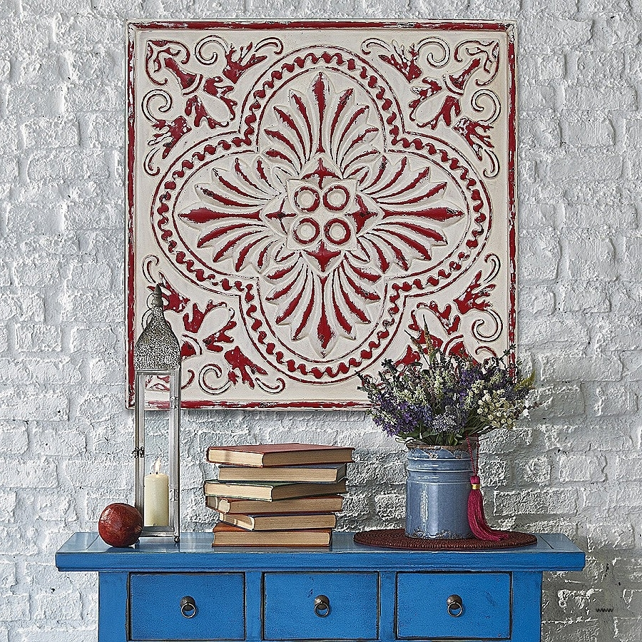 15 Best Collection Of Medallion Tiles Wall Art