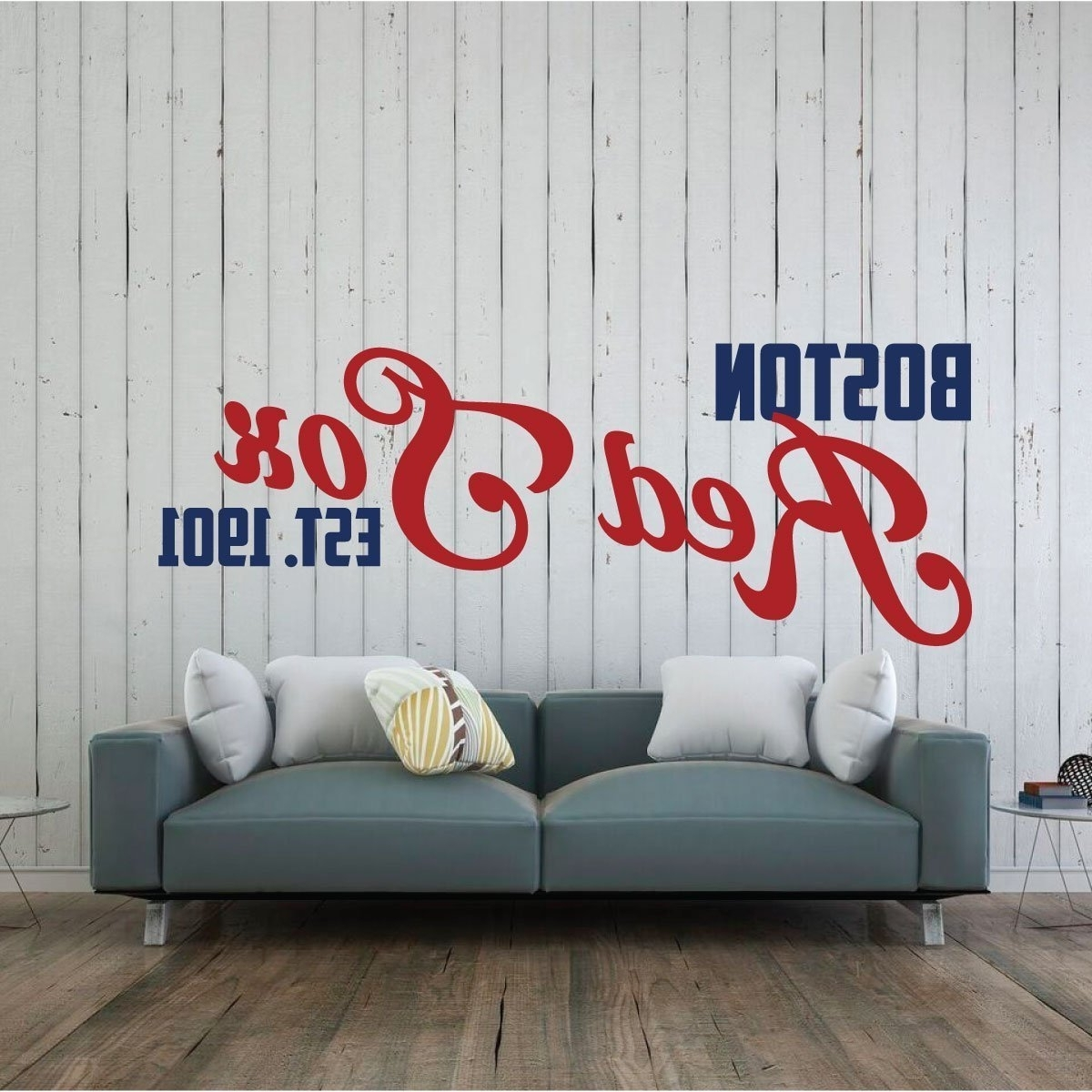 2017 Red Sox Wall Decal – Boston Baseball Decorations With Red Sox Wall Decals (View 1 of 15)