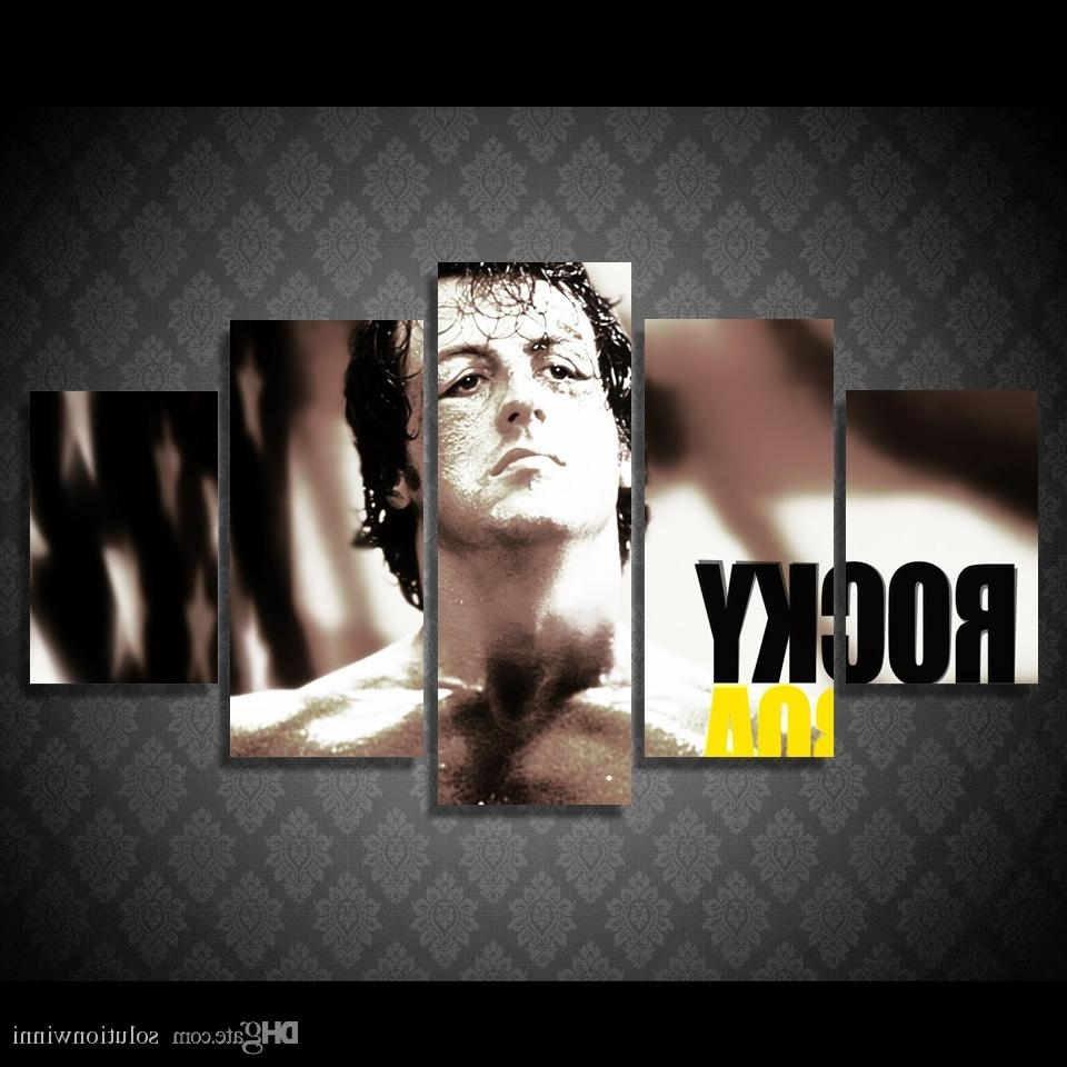 2017 Rocky Balboa Wall Art With Regard To Framed Hd Printed Rocky Balboa Boxing Stars Painting Picutre Print (View 1 of 15)