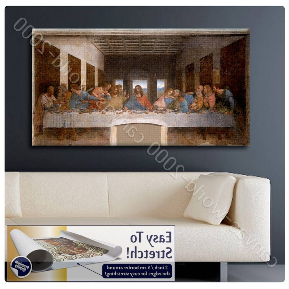 2017 The Last Supper Wall Art With Regard To Canvas (Rolled) The Last Supper Leonardo Da Vinci Art Wall Art (View 7 of 15)