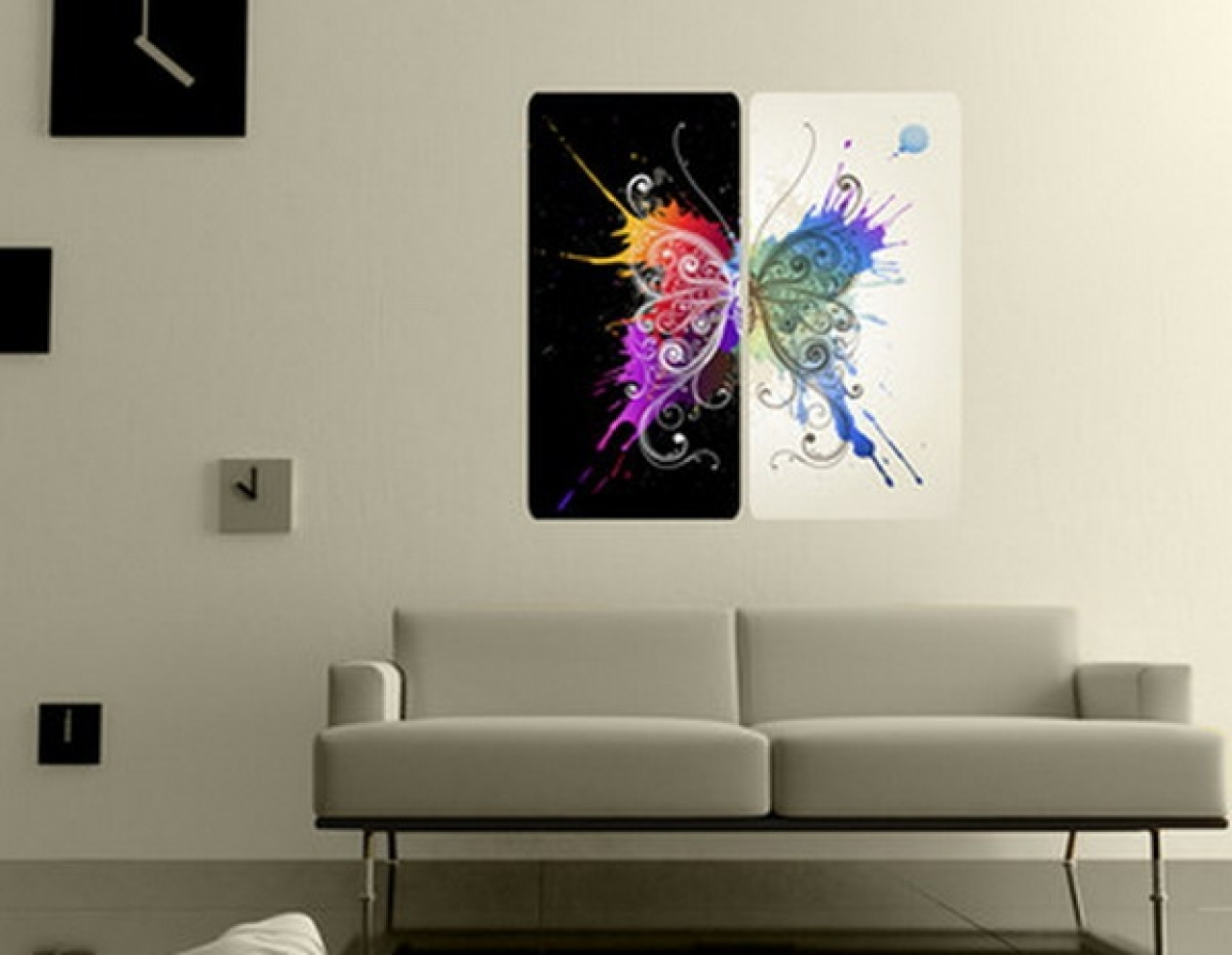 2017 Uk Contemporary Wall Art Intended For Perfect Huge Canvas Hd Print Water Drop Wall Art Abstract Home (View 2 of 15)
