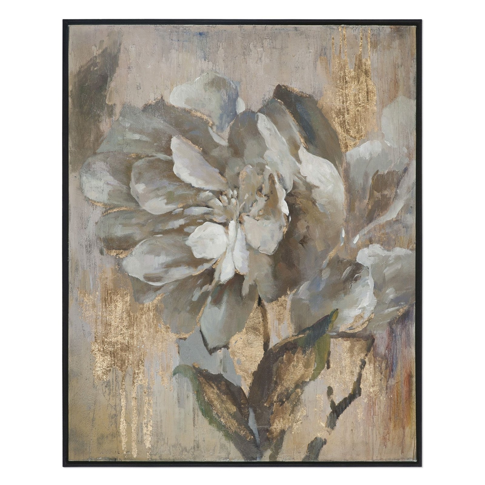 2017 Uttermost Metal Wall Art For Uttermost Dazzling Floral Wall Art (View 2 of 15)