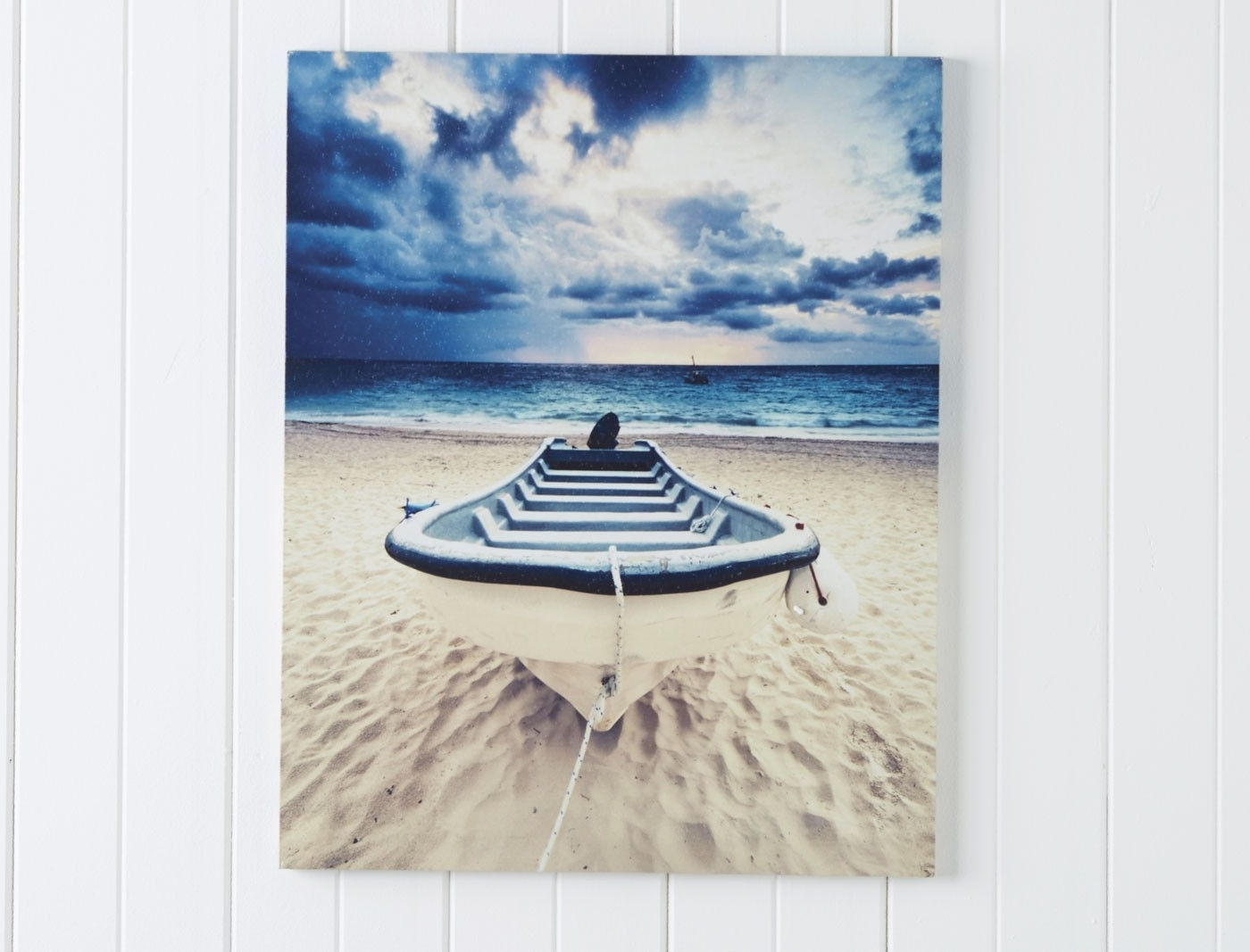 2017 Wall Art Boat With Navy Within Boat Wall Art (View 15 of 15)