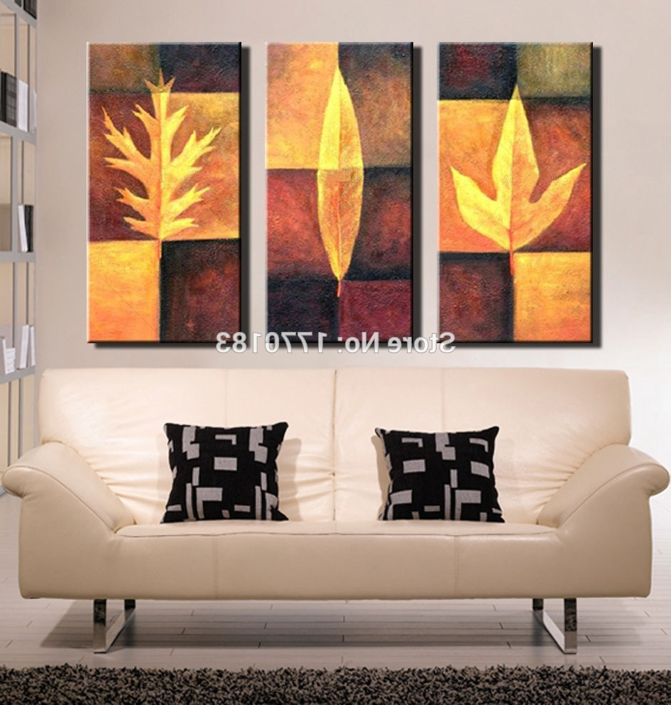 Featured Photo of Abstract Leaves Wall Art