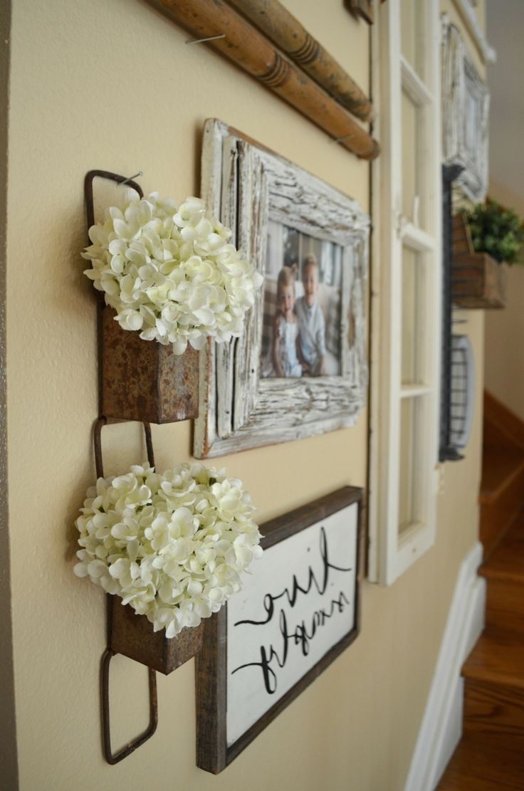 2017 Wall Art Ideas For Hallways For Ideas About Hallway Wall Decor Corner Of Including Art For (View 3 of 15)