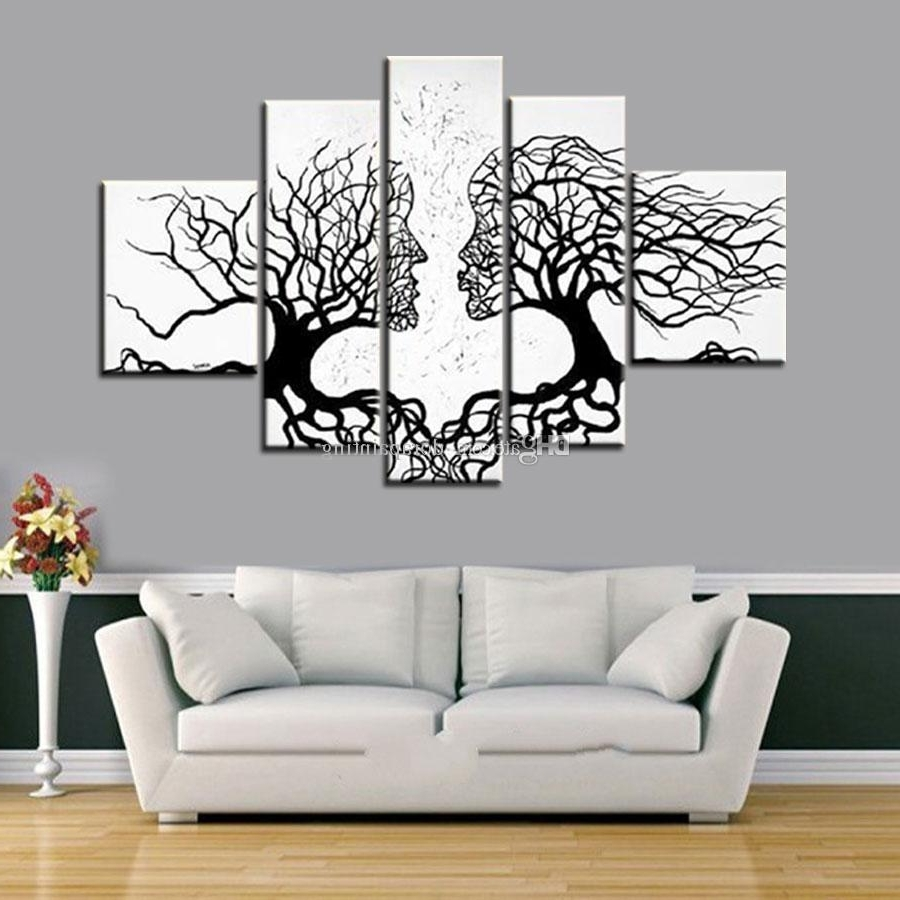 [%2018 100% Hand Made Promotion Black White Tree Canvas Painting Intended For Most Up To Date Black And White Wall Art|black And White Wall Art Inside Most Up To Date 2018 100% Hand Made Promotion Black White Tree Canvas Painting|2017 Black And White Wall Art Throughout 2018 100% Hand Made Promotion Black White Tree Canvas Painting|famous 2018 100% Hand Made Promotion Black White Tree Canvas Painting With Regard To Black And White Wall Art%] (View 8 of 15)