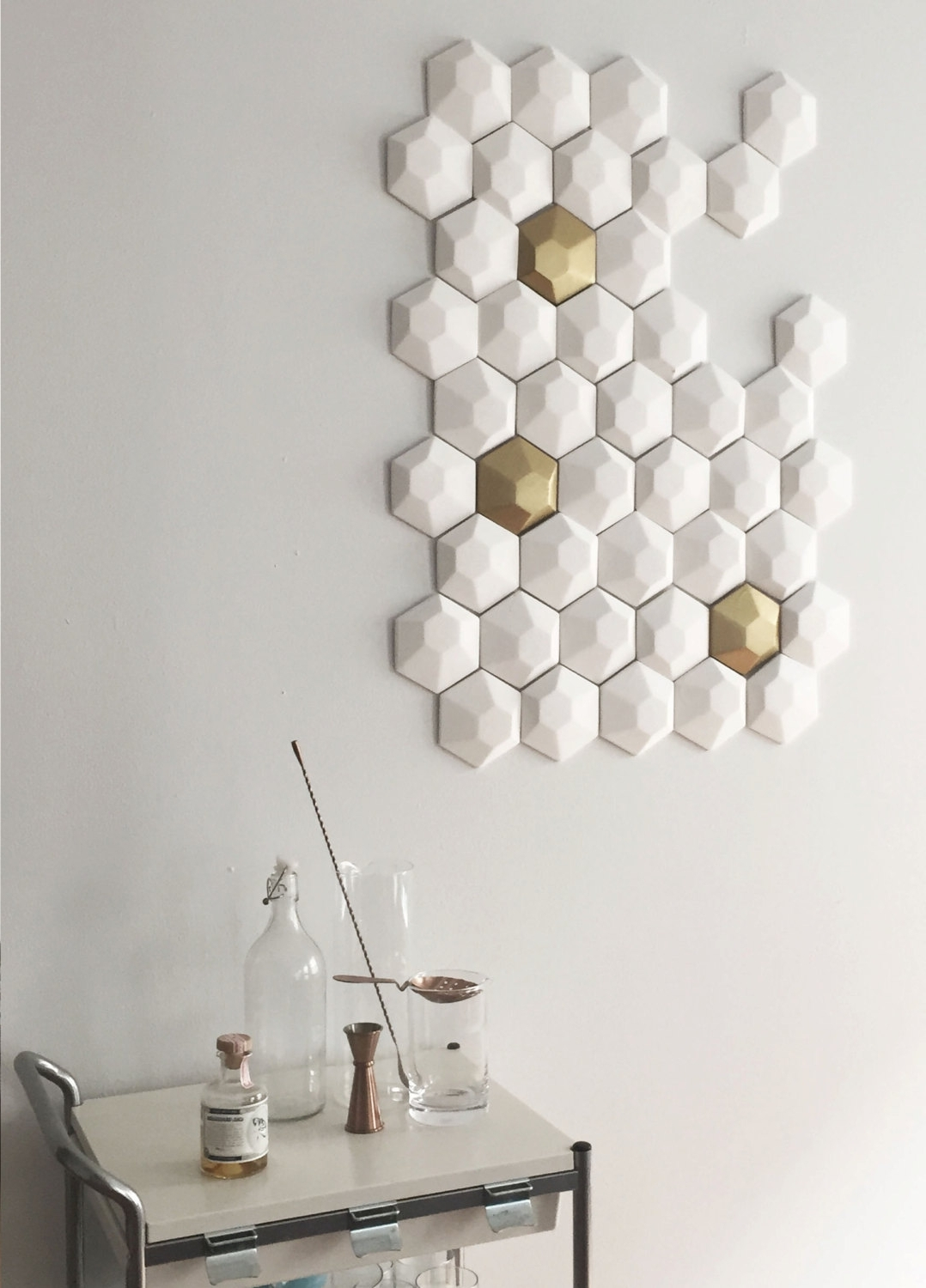 2018 3d Wall Art White (View 15 of 15)