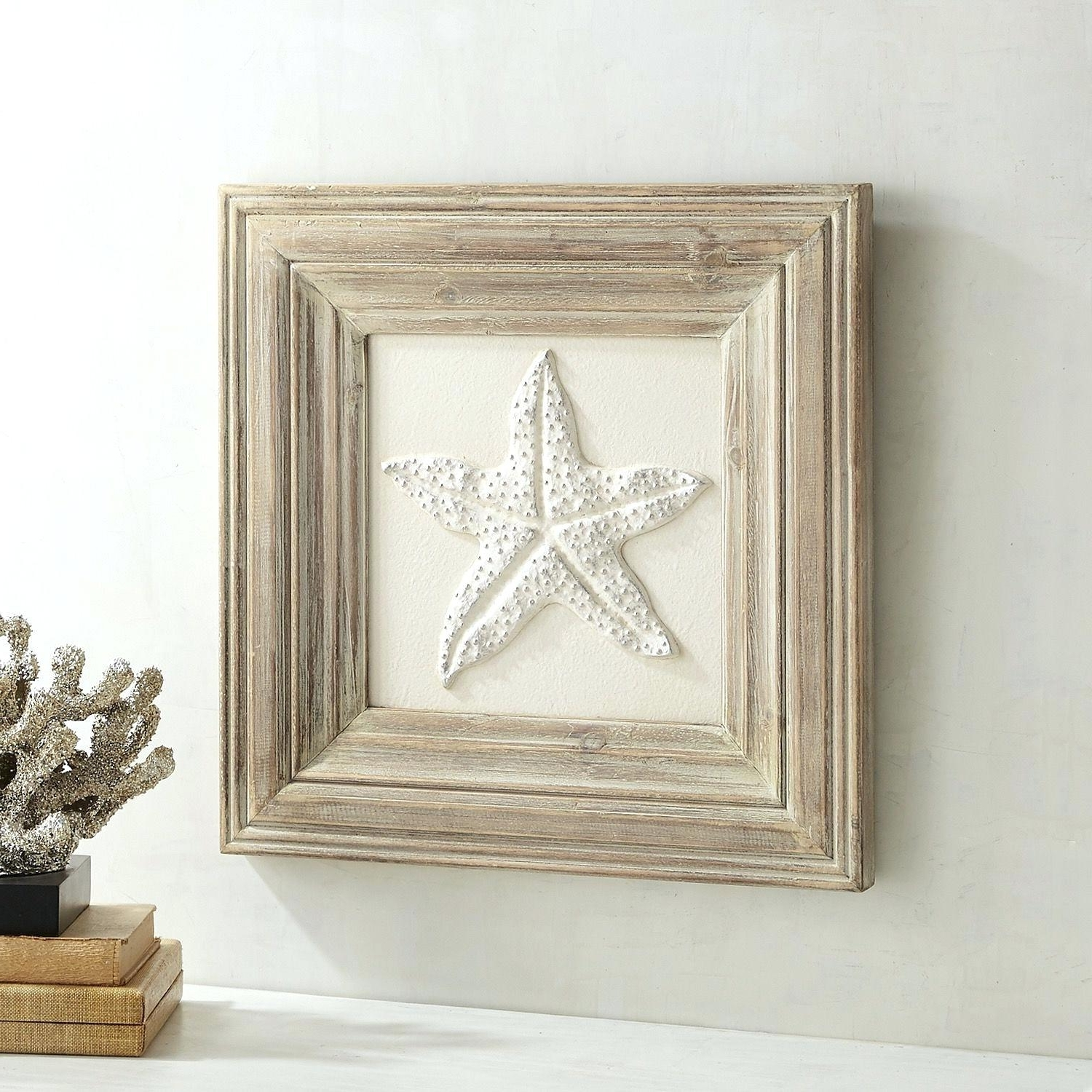 2018 Awesome Starfish Wall Decor Large Starfish Sand Dollar For Wall Regarding Large Starfish Wall Decors (View 1 of 15)