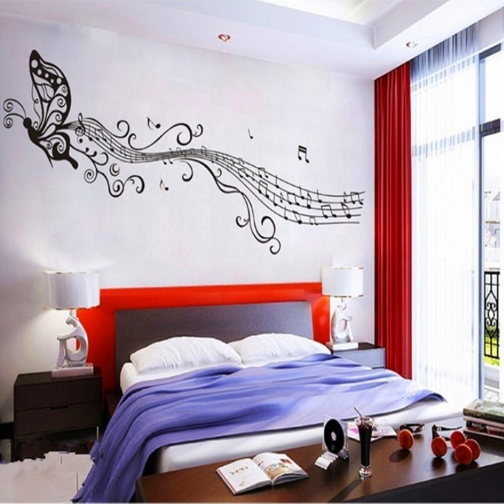 2018 Bedroom : Unique Bedroom With Music Theme Ideas 30+ Creative Music With Music Theme Wall Art (View 5 of 15)