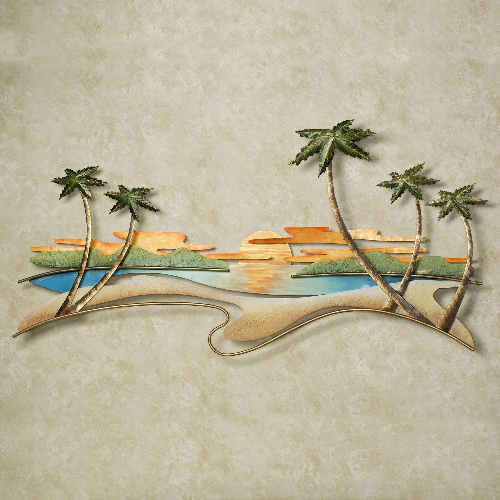 Featured Photo of Caribbean Metal Wall Art