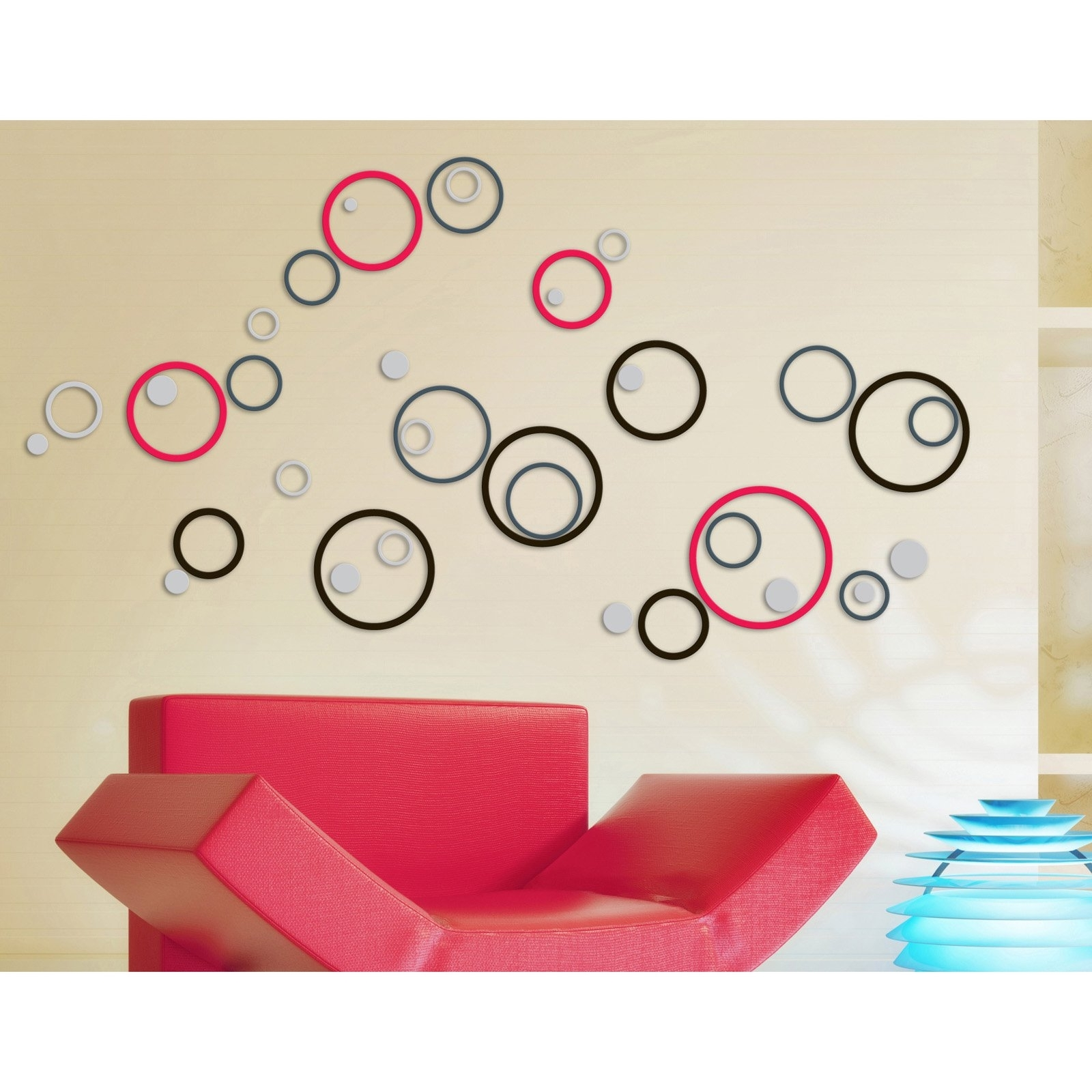 2018 Circles 3d Wall Art For 3d Wallpapers (View 12 of 15)