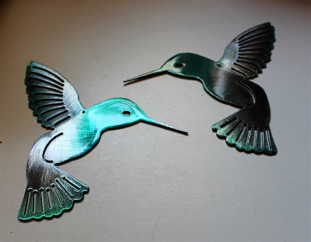 2018 Email With Hummingbird Metal Wall Art (View 4 of 15)