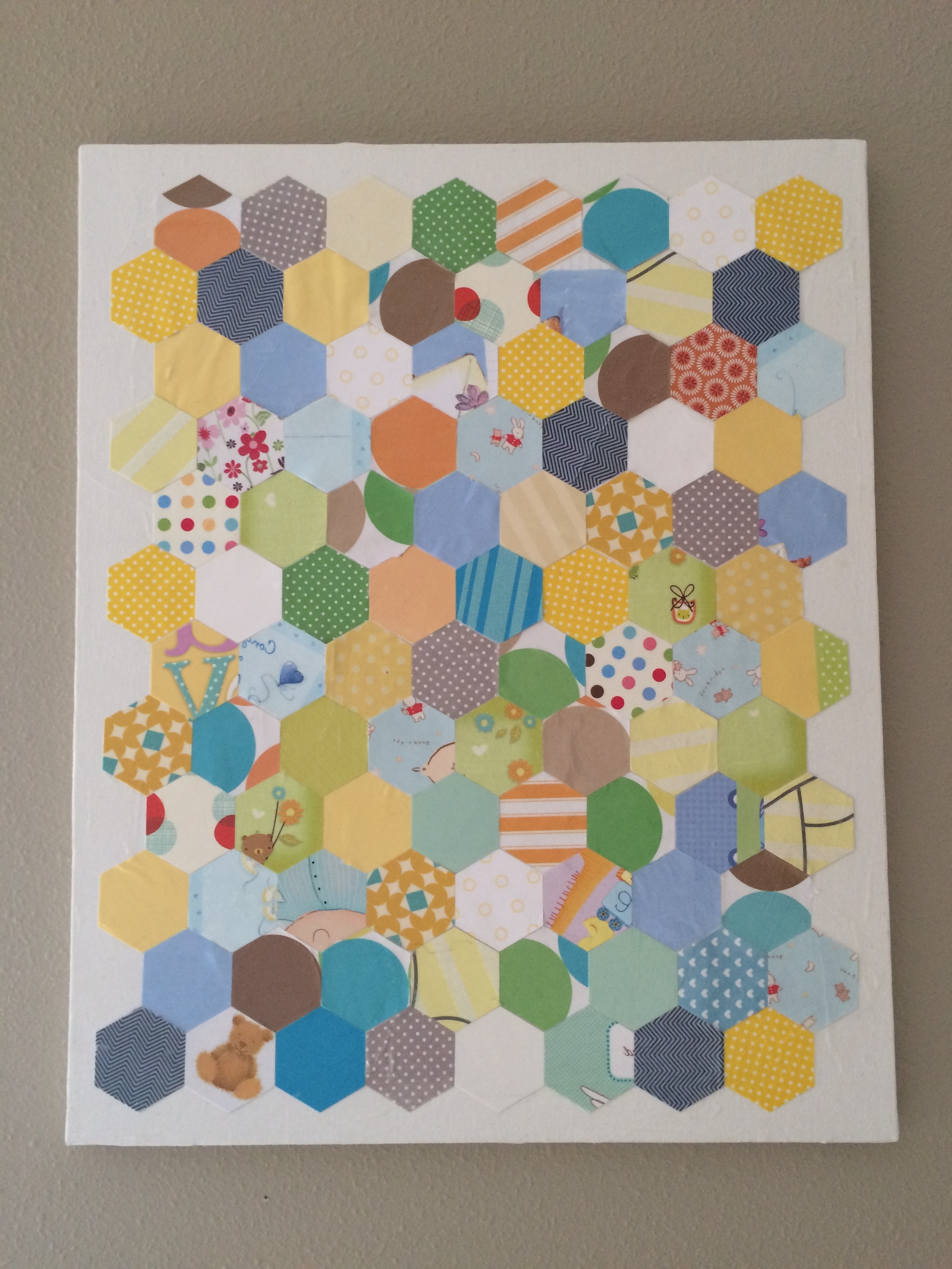 2018 Fresh Nursery Wall Art Ideas: Decoupage, Glue, Sew And Staple Throughout Decoupage Wall Art (View 9 of 15)