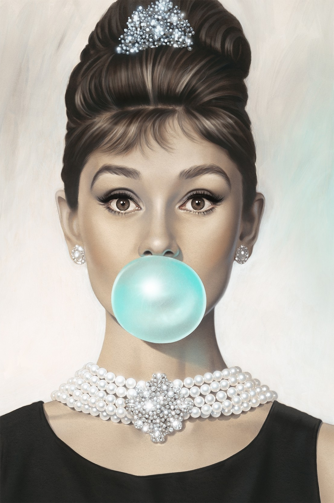2018 Glamorous Audrey Hepburn Wall Art Pertaining To High Resolution Audrey 2 E14485484931191 (1100× (View 1 of 15)