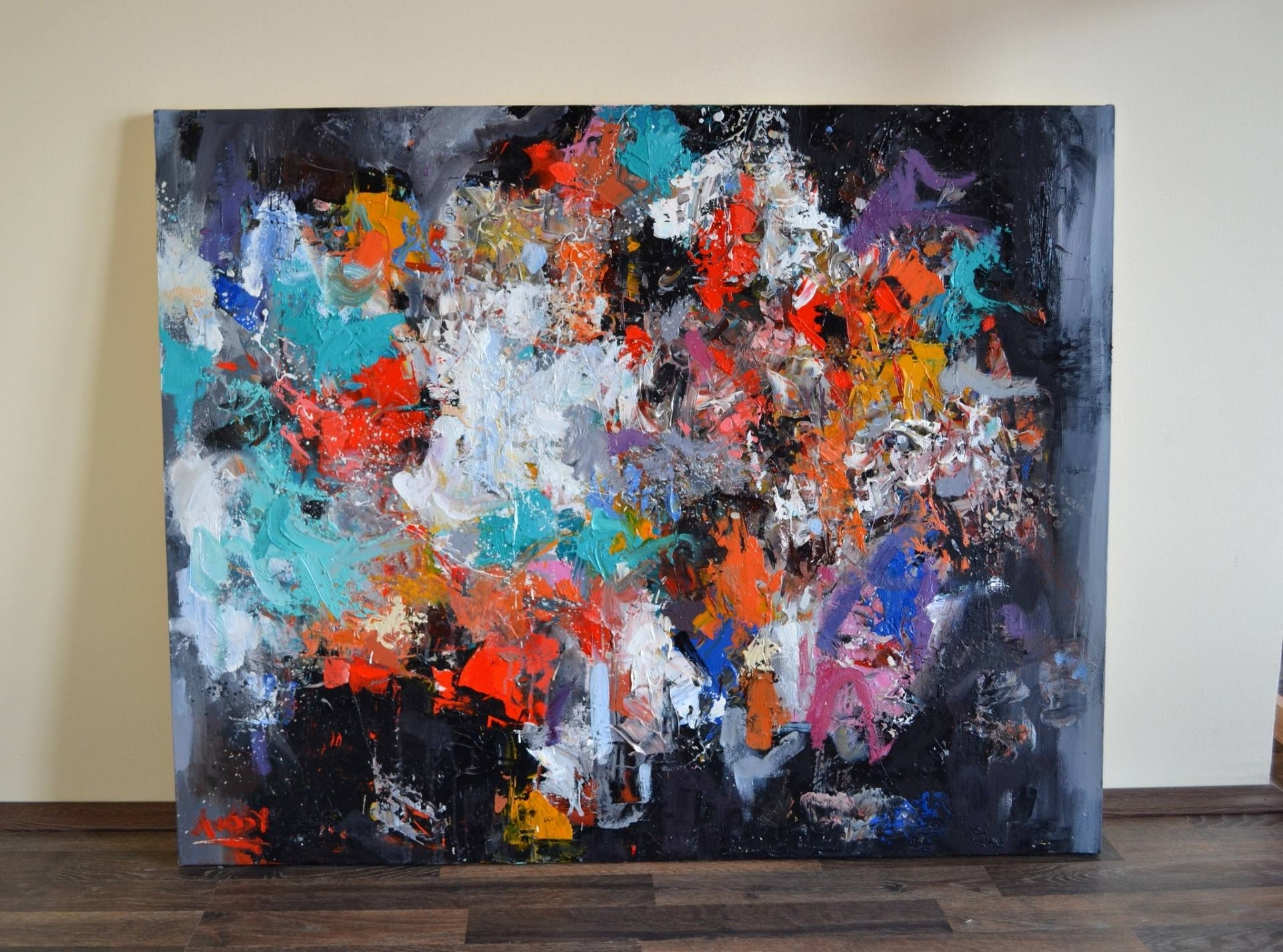 2018 Kingdom Abstract Metal Wall Art Regarding Saatchi Art: Abstract Holiday Sold (united Kingdom) Painting (View 7 of 15)