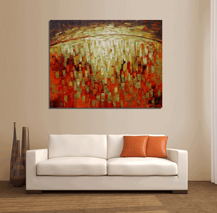 2018 Large Abstract Wall Art Australia With Wall Arts ~ Abstract Canvas Art Australia Abstract Circle Canvas (View 3 of 15)