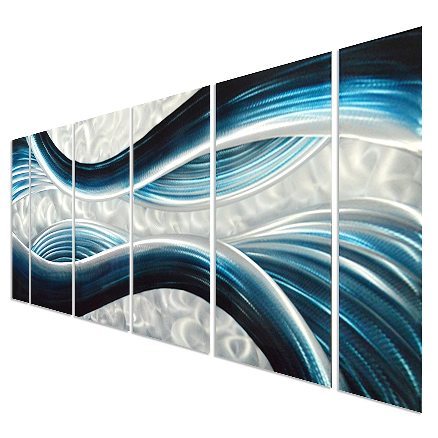 2018 Metal Wall Art Panels Australia A Decal Amazon Blue Desire Large With Abstract Ocean Wall Art (View 15 of 15)