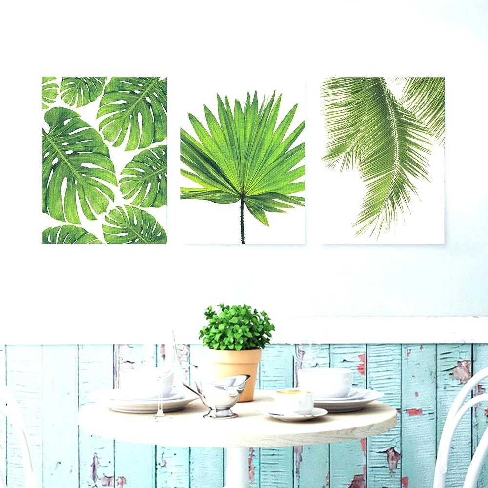 2018 Palm Leaf Wall Art Inside Wall Arts ~ Large Palm Leaf Wall Art Palm Leaf Wall Art Gardman (View 2 of 15)