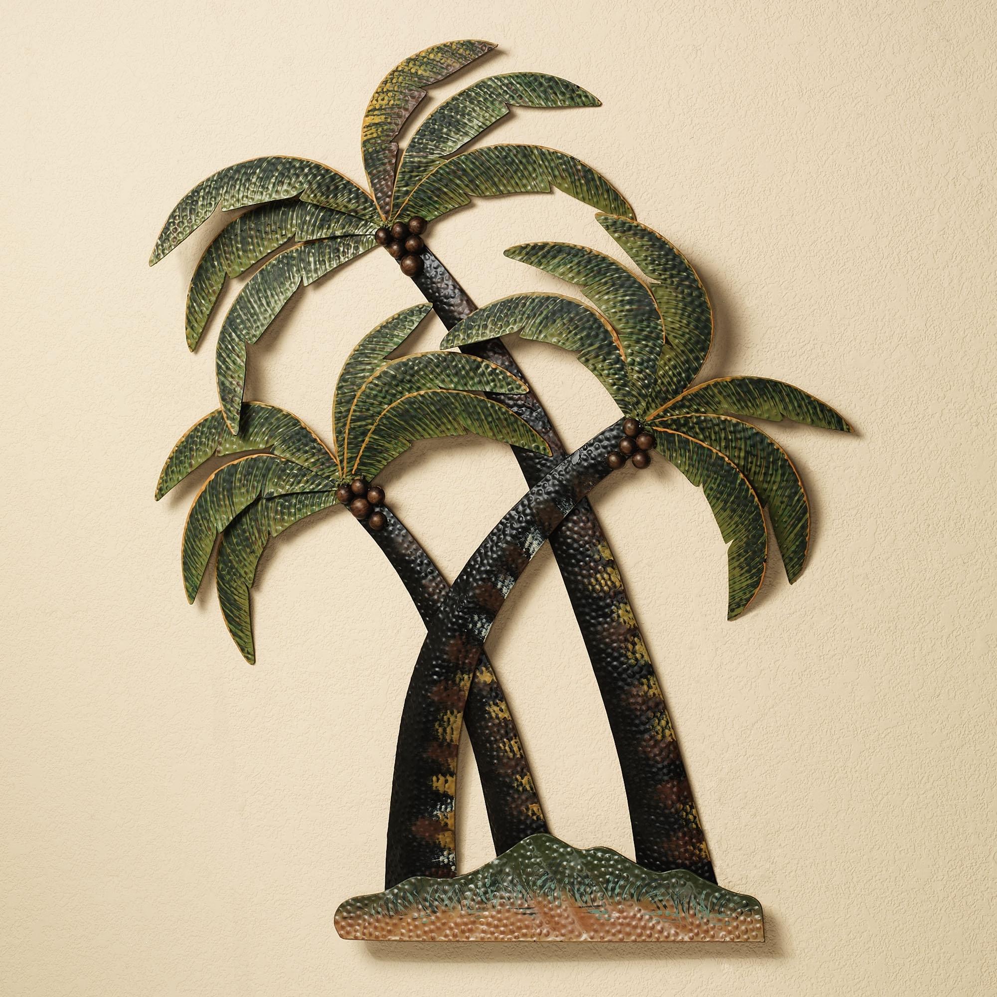 2018 Palm Leaf Wall Decor In Wall Art Designs: Palm Tree Wall Art Palm Tree Bathroom Palm Trees (View 1 of 15)