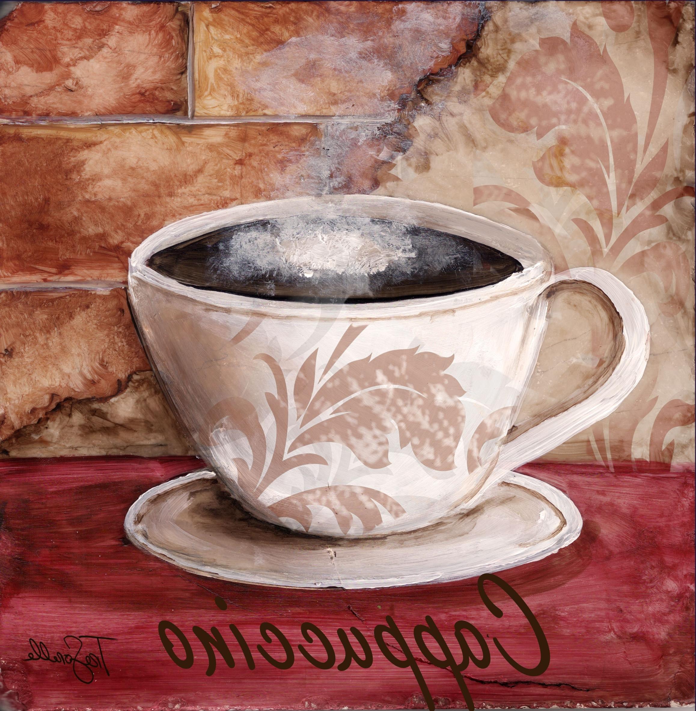 2018 Tre Sorelle's Art Licensing Program Regarding Italian Coffee Wall Art (View 1 of 15)