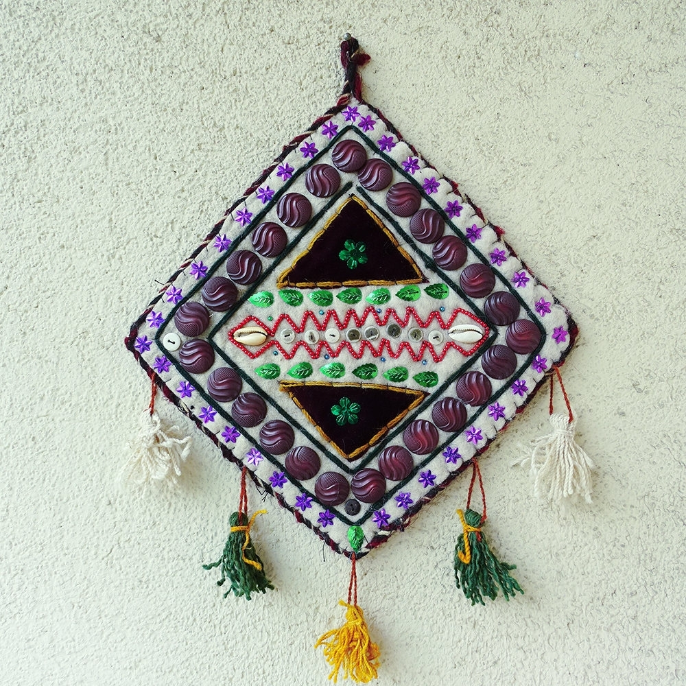 2018 Turkish Wall Hanging, Vintage Wall Decoration, Geometric Wall Inside Turkish Wall Art (View 3 of 15)