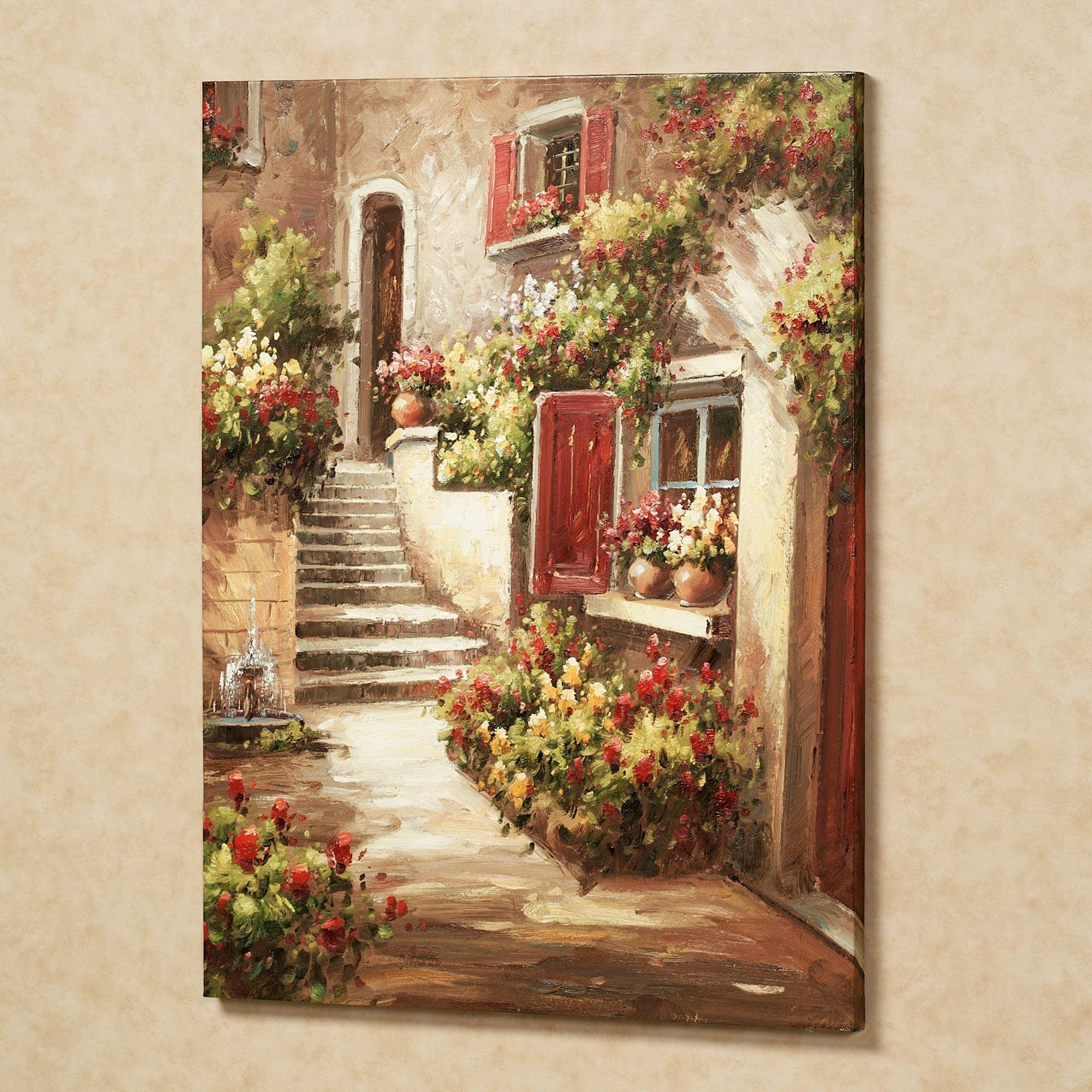 2018 Tuscan Italian Art (View 1 of 15)