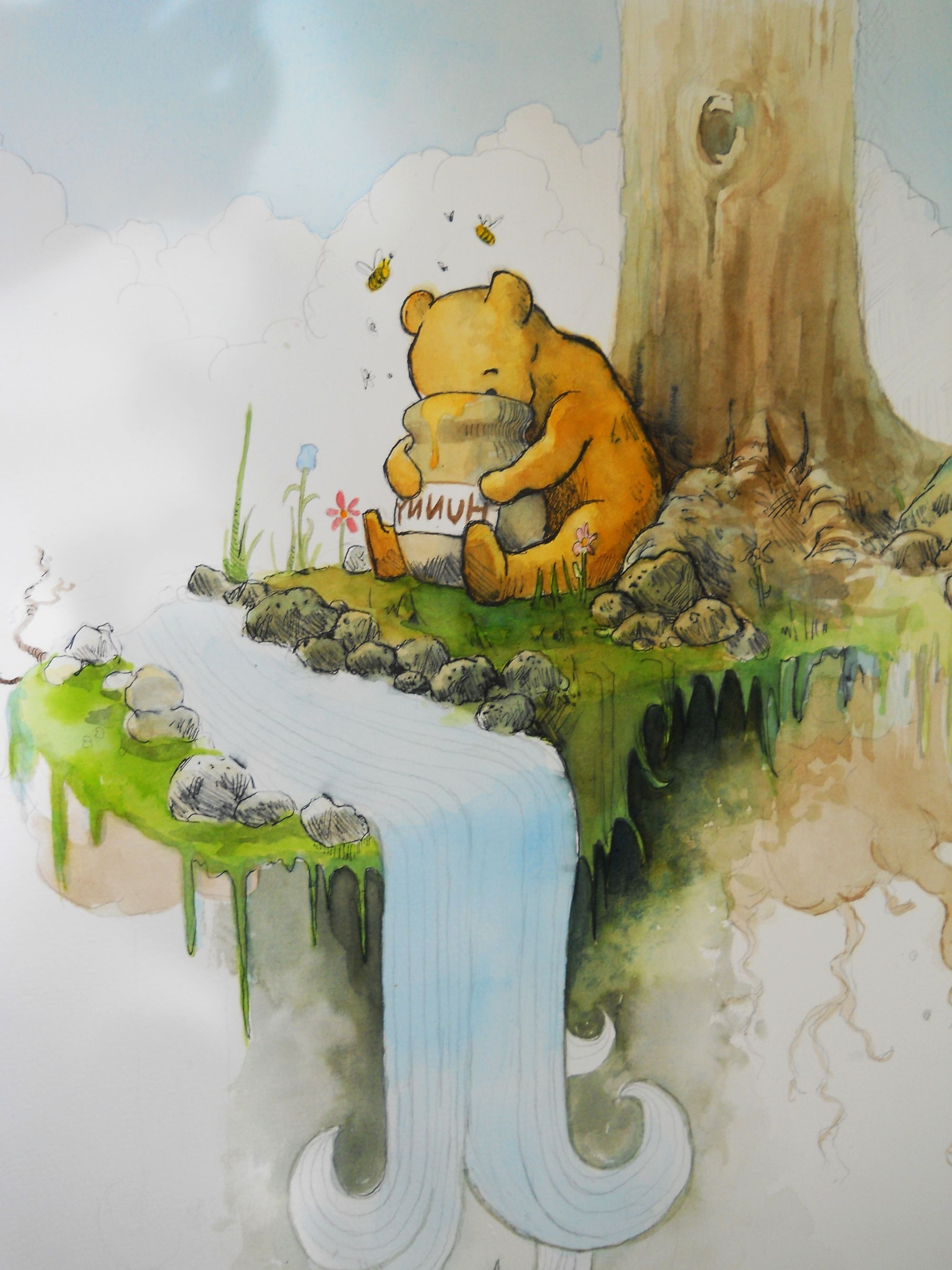 2018 Winnie The Poohoswalddent On Deviantart Throughout Classic Pooh Art (View 3 of 15)
