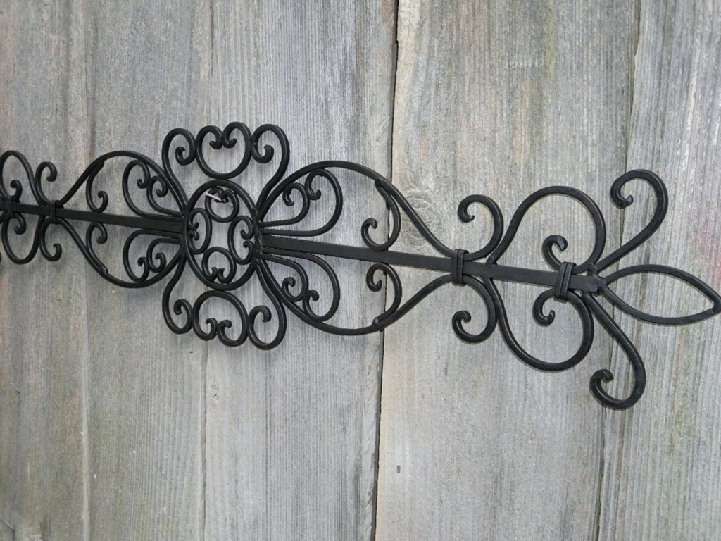 2018 Wrought Iron Garden Wall Art With Wall Arts ~ Garden Wall Art Metal Adelaide Metal Garden Wall Art (View 1 of 15)