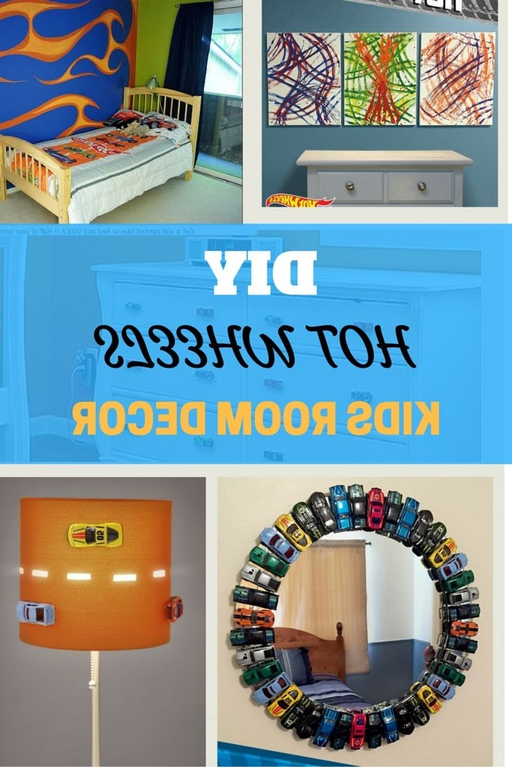 25 Unique Hot Wheels Bedroom Ideas On Pinterest Boys Room Ideas For Popular Hot Wheels Wall Art (View 2 of 15)