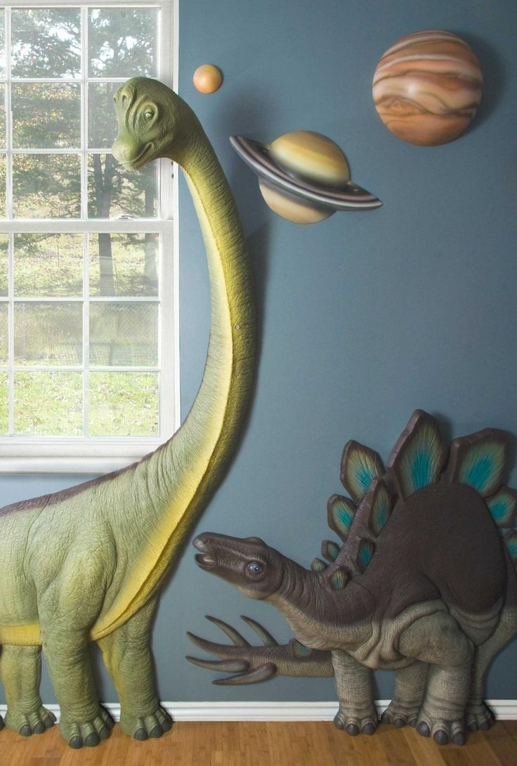 25 Unparalleled 3D Wall Art For Charming Home Within Most Recent Dinosaurs 3D Wall Art (View 1 of 15)