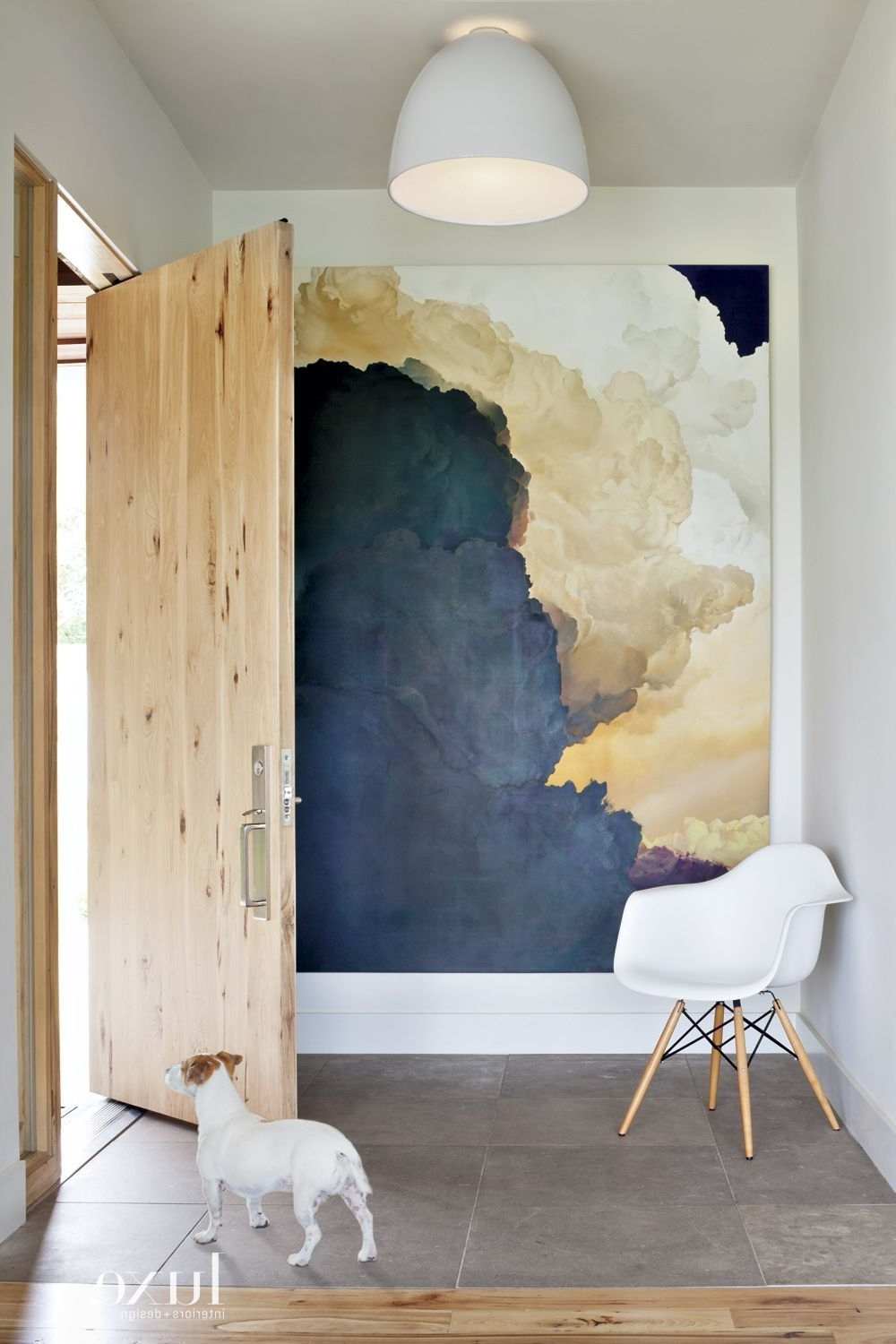 35 Foyers With Statement Art Pieces (Gallery 4 of 15)