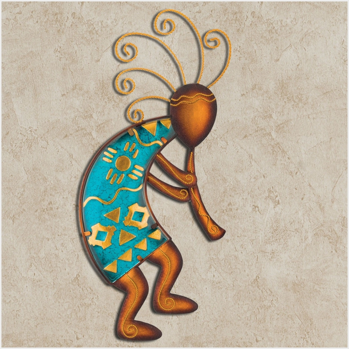 Featured Photo of Kokopelli Metal Wall Art