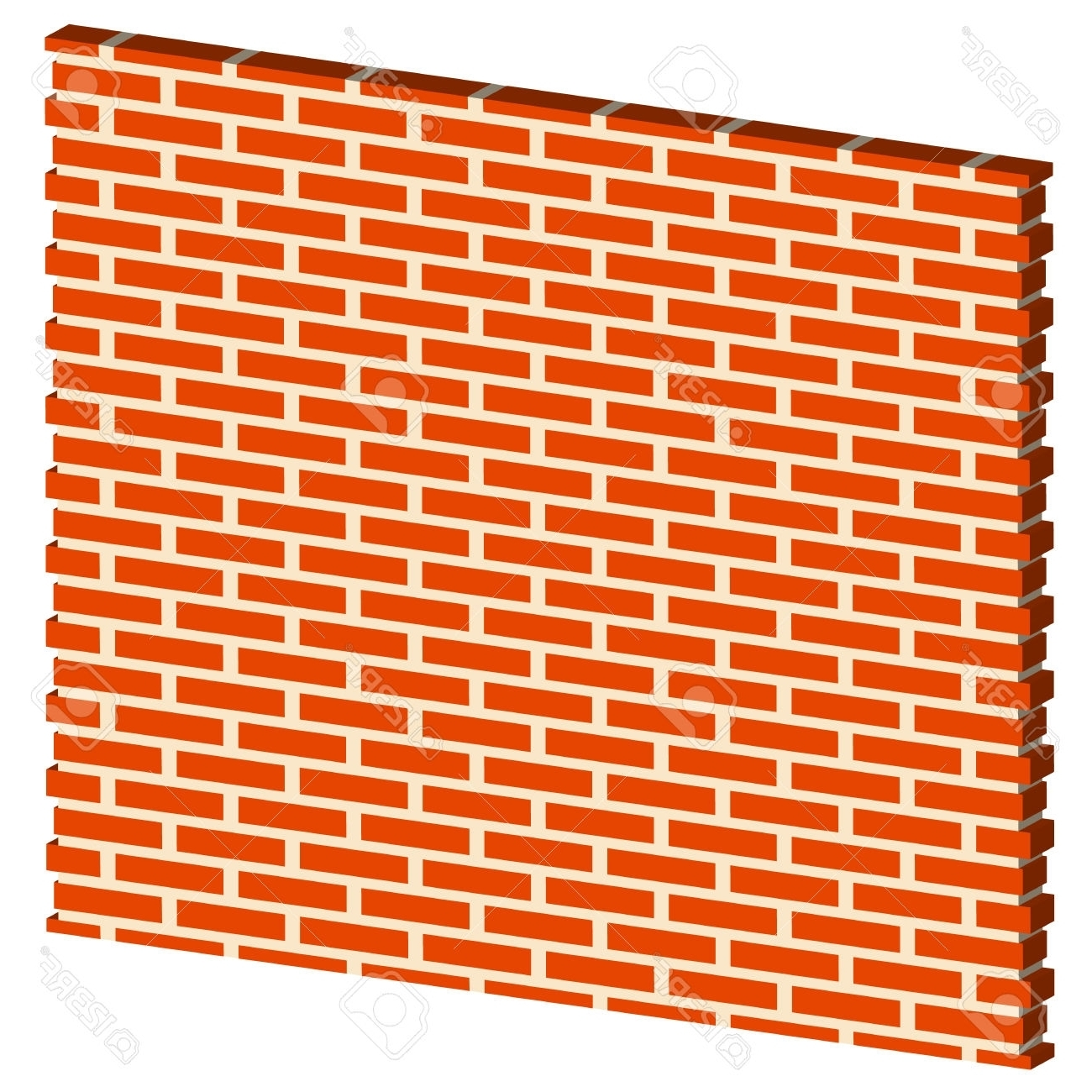 3D Brick Wall Art With Well Known 3D Clipart Brick Wall – Pencil And In Color 3D Clipart Brick Wall (View 9 of 15)