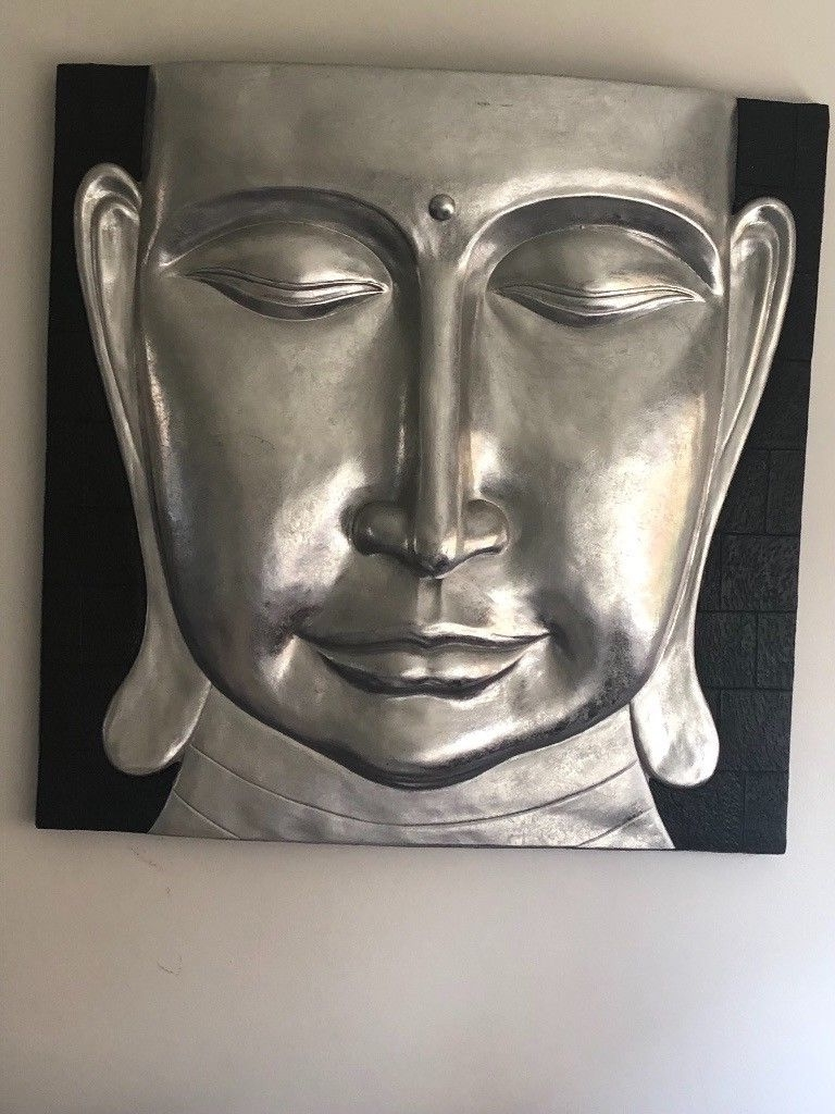 3D Buddha Wall Art In Preferred Large Buddha Wall Art For Sale 32X32Inch 3D Image Cost £200 Grab A (Gallery 12 of 15)