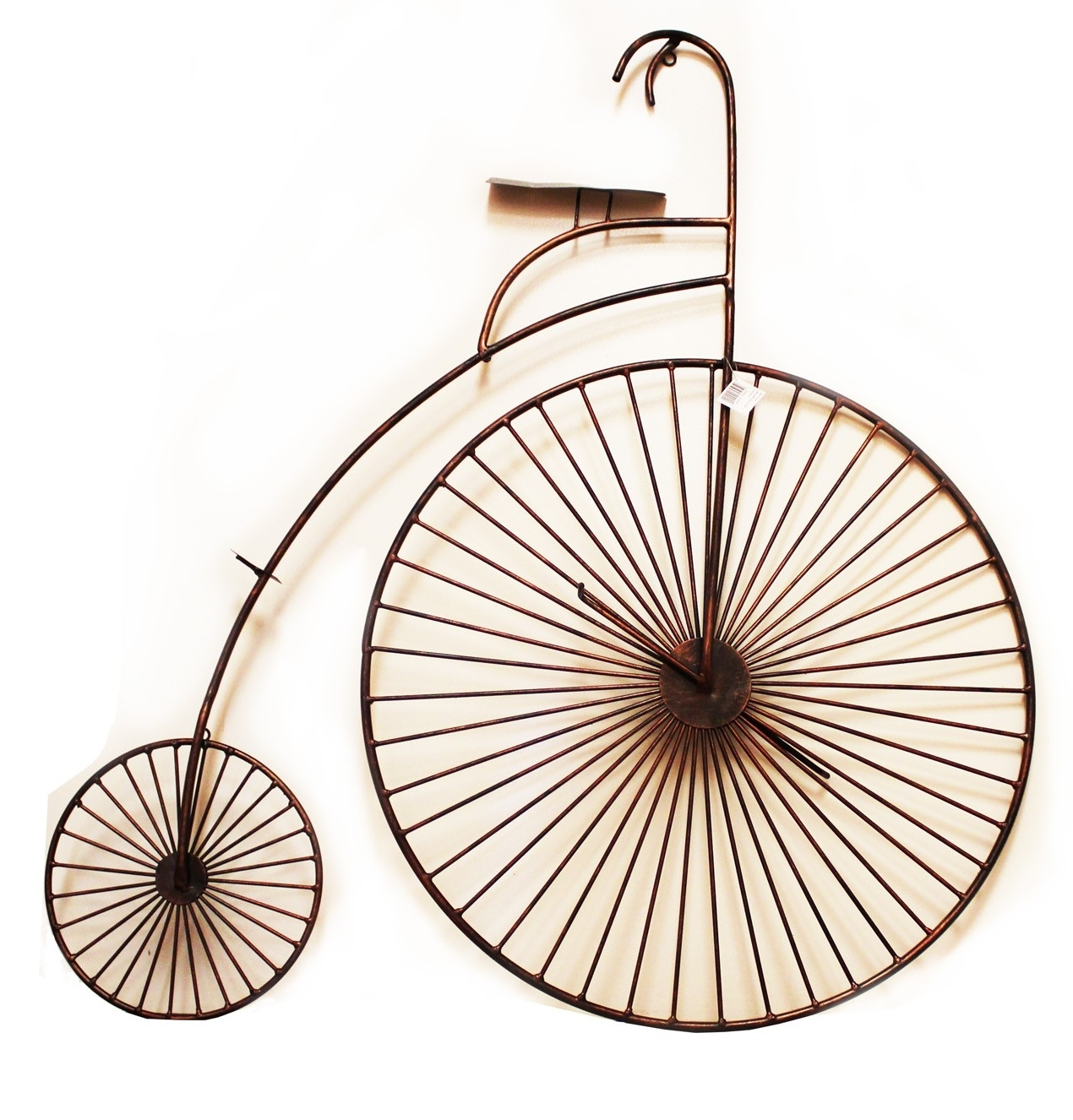 3D Copper Tone Bicycle Wall Art (View 2 of 15)