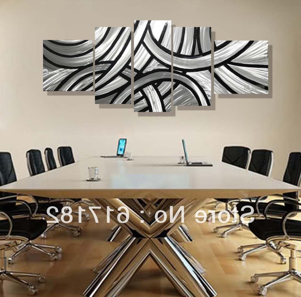 3D Effect Wall Art Intended For Most Popular Modern Unique Design Irregular Handmade Metal Wall Art Fashionable (Gallery 6 of 15)