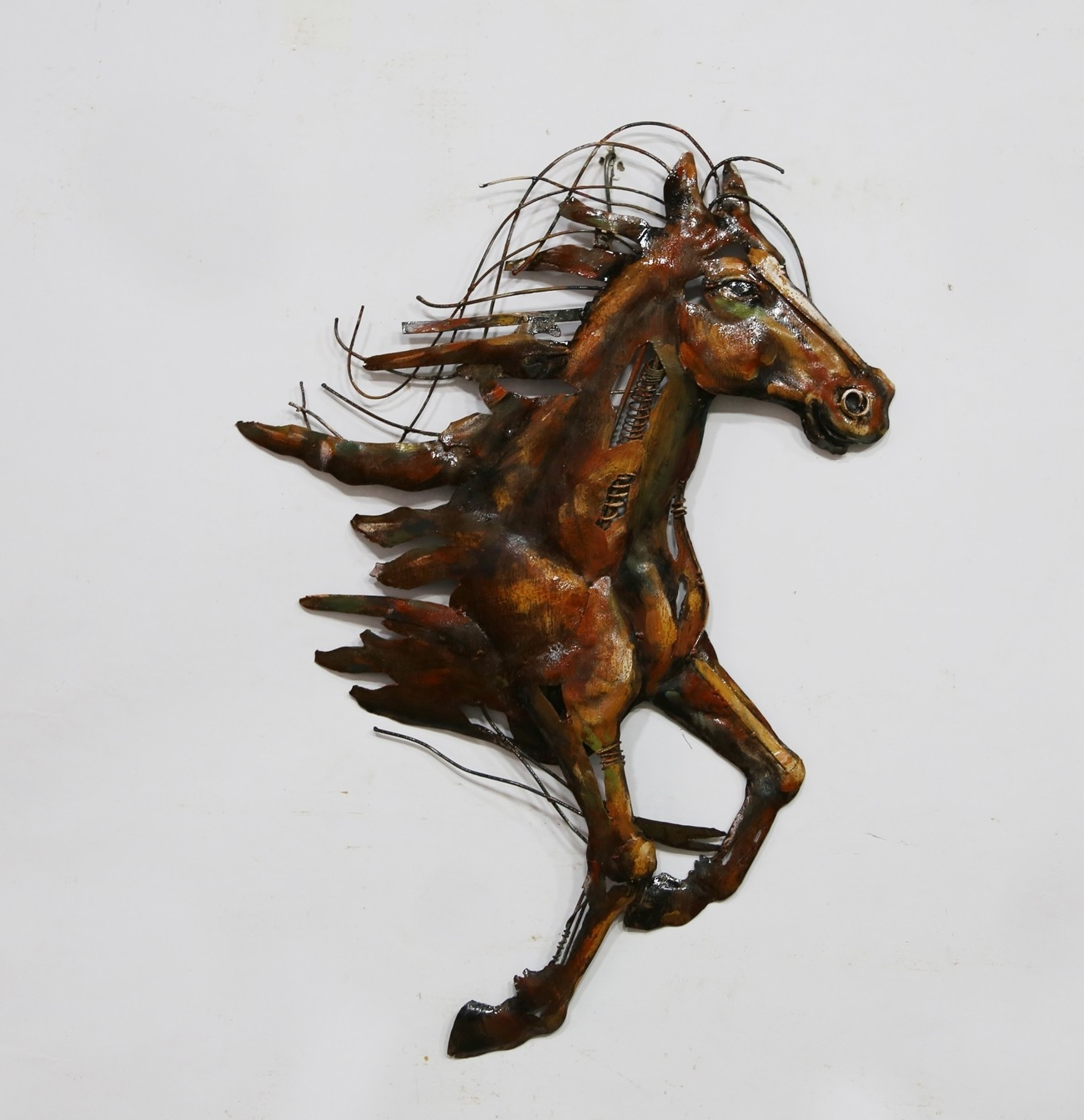 3D Horse Wall Art Within Well Liked Horse 3D Metal Wall Art – Blackbrook Interiors (View 9 of 15)