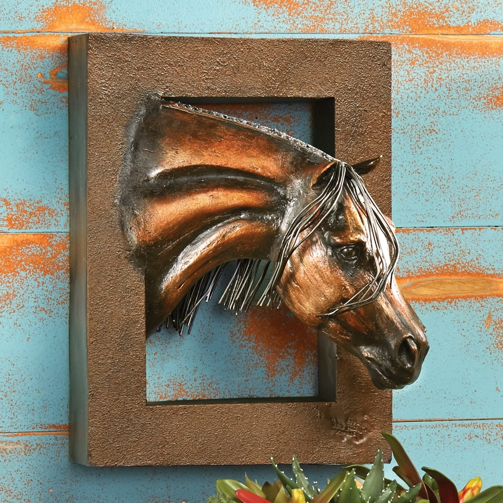 3D Horse Wall Art (View 2 of 15)