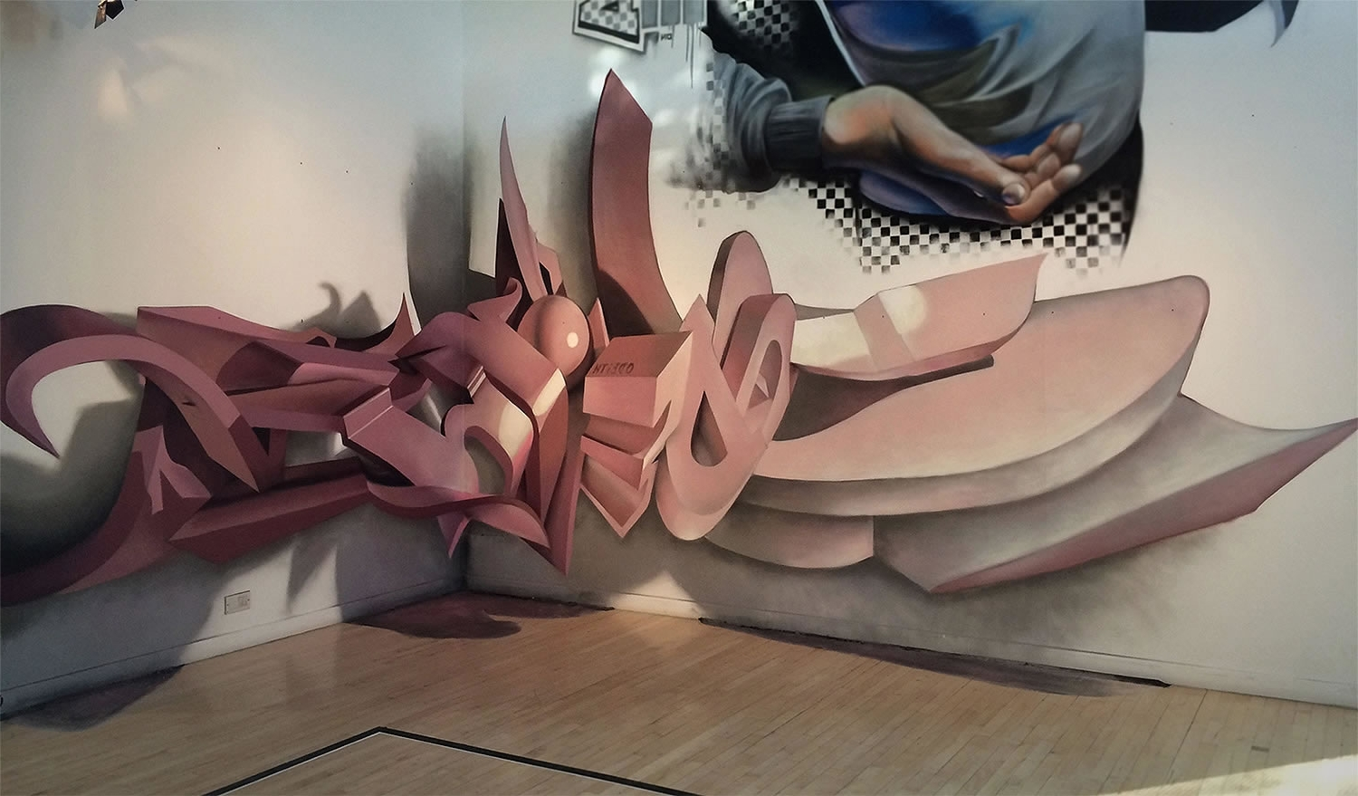 3D Letters, Graffiti And 3D Pertaining To 3D Wall Art Illusions (View 1 of 15)