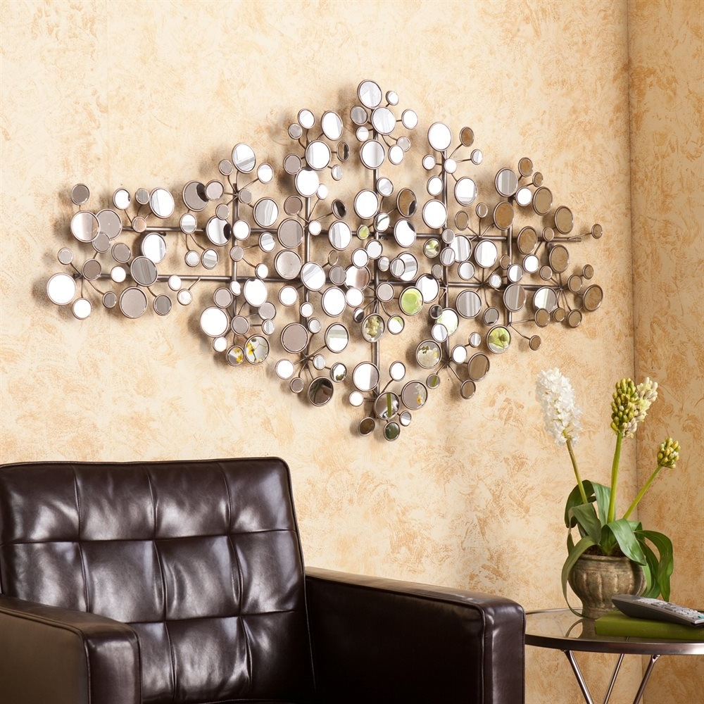 3d Metal Wall Art Intended For Famous Boston Loft Furnishings Atg1479ws Stoddart Mirrored Metal Wall (View 6 of 15)