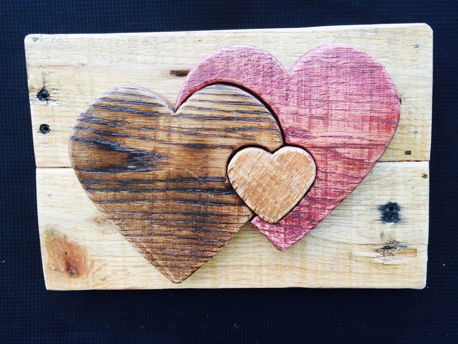 3D Pallet Heart Wall Art Within Most Popular Heart 3D Wall Art (View 2 of 15)