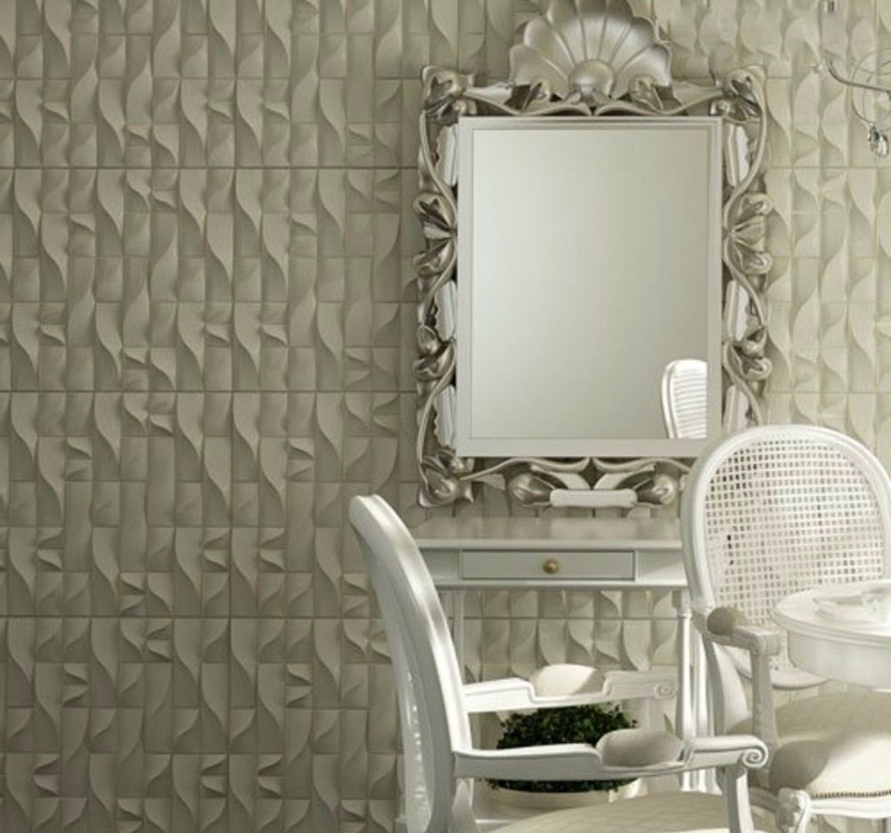 "3D Plastic Wall Panels Pertaining To Most Current Plastic Molds Forms 3D Decorative Wall Panels ""vertic"" Price For  (View 3 of 15)"